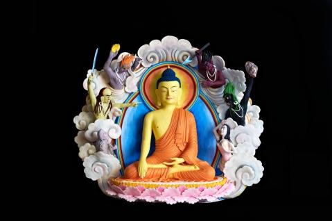 Buddha Figures - Flash