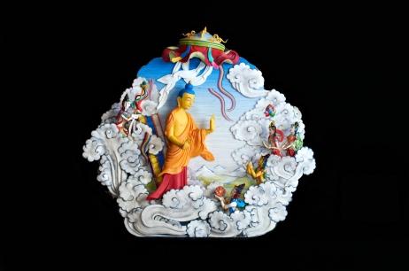 Buddha In Clouds - Flash