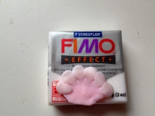 "Fimo ""effect"" white adds a translucent glow"